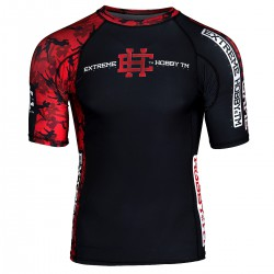 Short sleeve rashguard RED WARRIOR