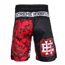 Grappling shorts RED WARRIOR