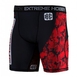 Vale Tudo Shorts RED WARRIOR
