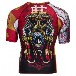 Short sleeve rashguard KILLER CARDS II