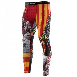 Leggings for men KILLER CARDS II
