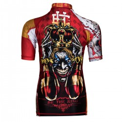 Short sleeve rashguard kids KILLER CARDS II