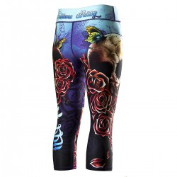 Leggings for women SKULL 2 3/4