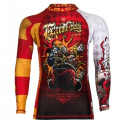 Longsleeve rashguard kids KILLER CARDS 2