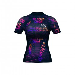 Short sleeve rashguard women LALUNIA