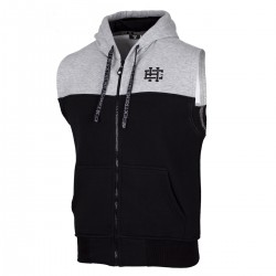 Vest hood BLOCK STRIPED