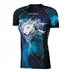 Short sleeve rashguard women BULL TERRIER