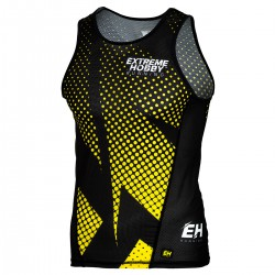 Tank top running man HALFTONE
