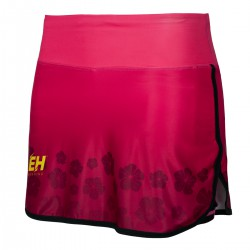 Women's running skirt shorts FLOWERS