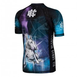 Short sleeve rashguard KIDS BULL TERRIER
