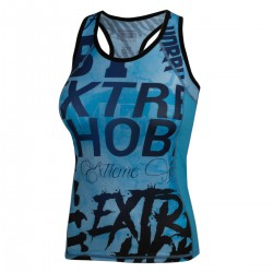 Tank top technical women LETTERS