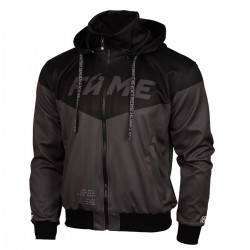 Hooded zip polyester FAME MMA