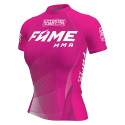 Short sleeve rashguard women FAME MMA