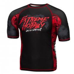 Short sleeve rashguard WHY SO SERIOUS