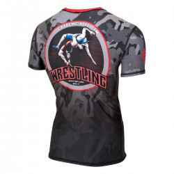 Short sleeve rashguard WRESTLING 2