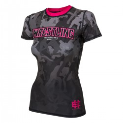 Short sleeve rashguard women WRESTLING 2