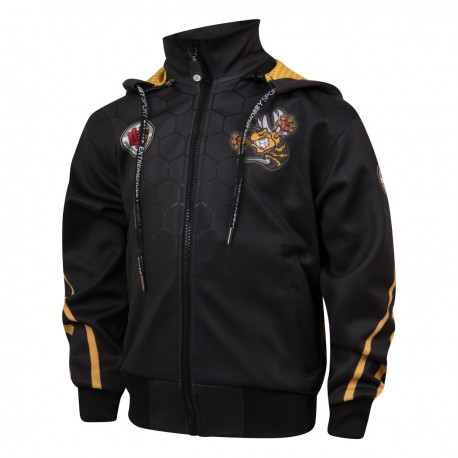 Hooded zip kids ANGRY WASP