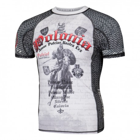 Short sleeve rashguard POLONIA PATRIOT