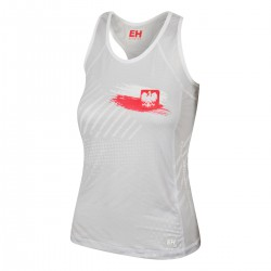 Women's running tank top POLSKA PRIME