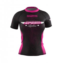 Short sleeve rashguard damski SPEED LADIES