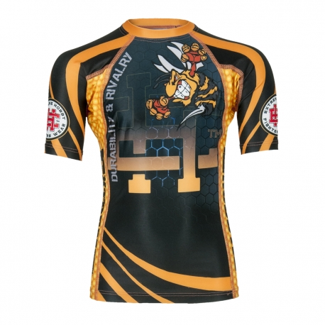 Short sleeve rashguard KIDS WASP