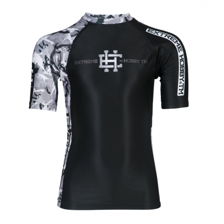 Short sleeve rashguard KIDS COMBAT GAME