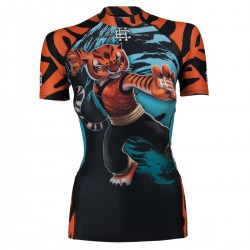 Short sleeve rashguard women TIGRESS