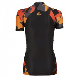 Short sleeve rashguard damski WORKOUT