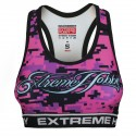 Sports bra DIGITAL CAMO pink
