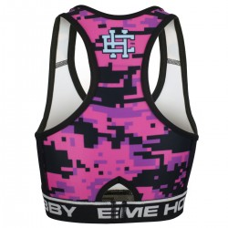 Top damski DIGITAL CAMO pink
