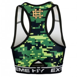 Top damski DIGITAL CAMO green