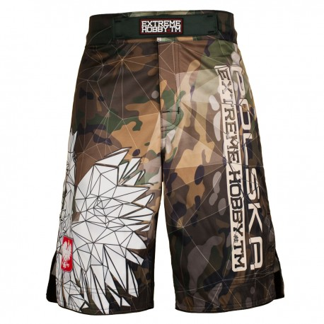 Grappling shorts POLSKA CAMO