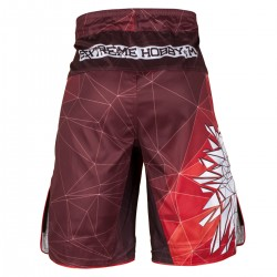 Grappling shorts POLSKA red