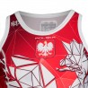Tank top rashguard POLSKA red