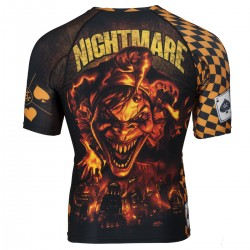 Short sleeve rashguard NIGHTMARE