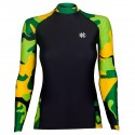 Longsleeve rashguard women WORKOUT