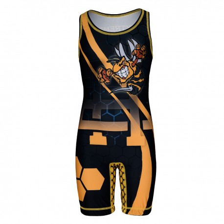 Wrestling suit kids WASP