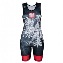 Wrestling suit women POLSKA CAMO