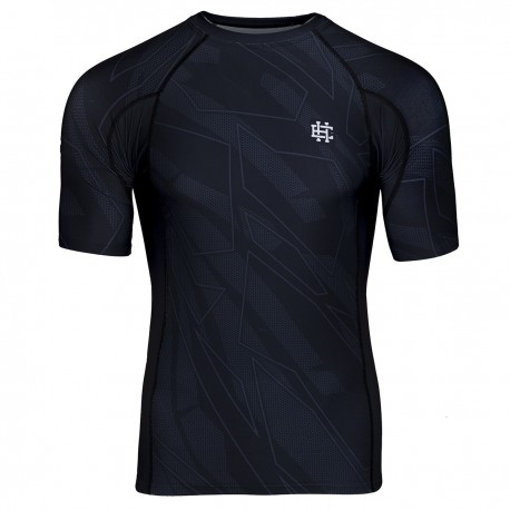 Short sleeve rashguard BASIC SHADOW