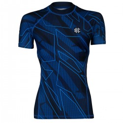 Short sleeve rashguard women BASIC SHADOW